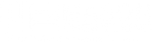 Mason Engineering White Logo