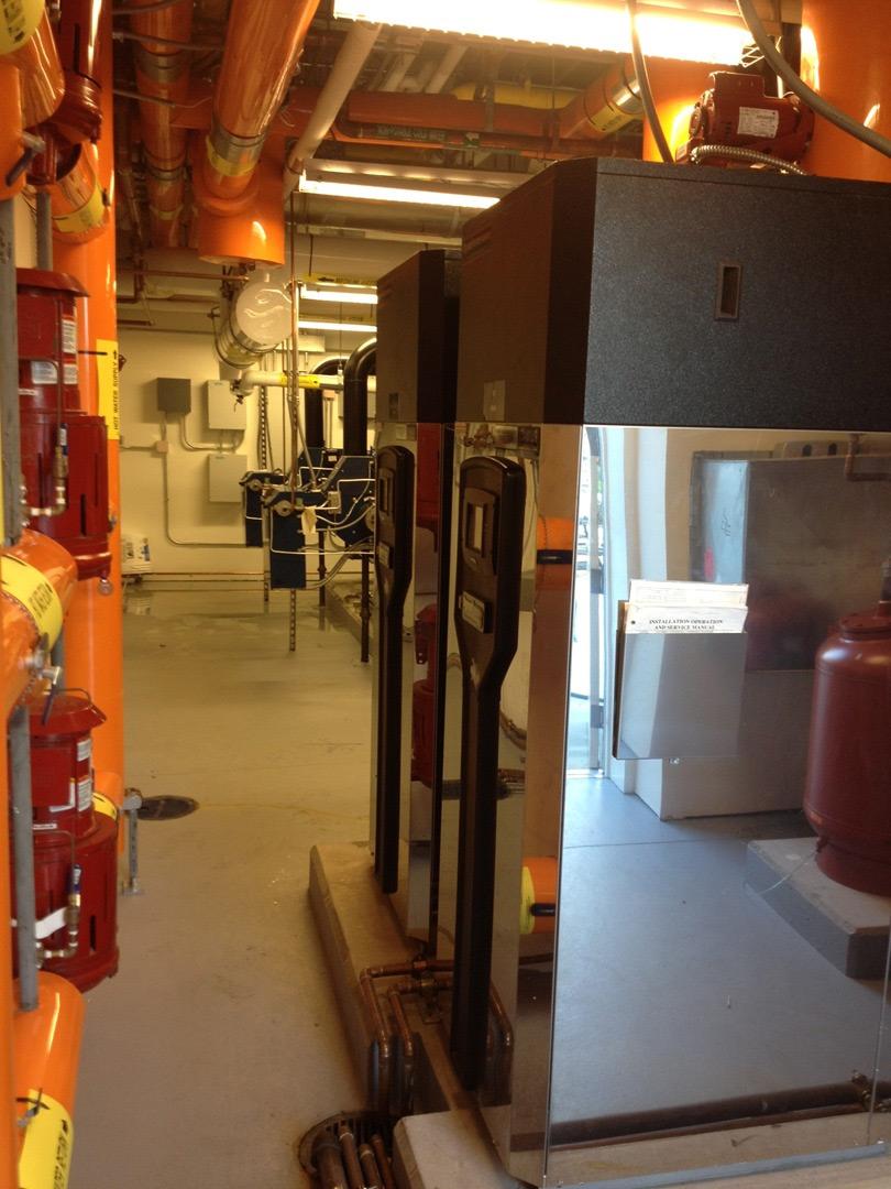 Max Plank Research Complex Boiler